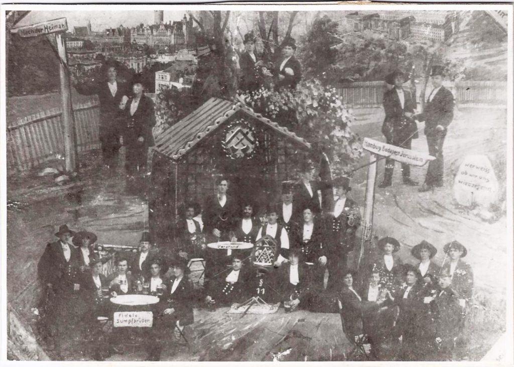 1912 – Spinnschacht 1.Mai in Leipzig