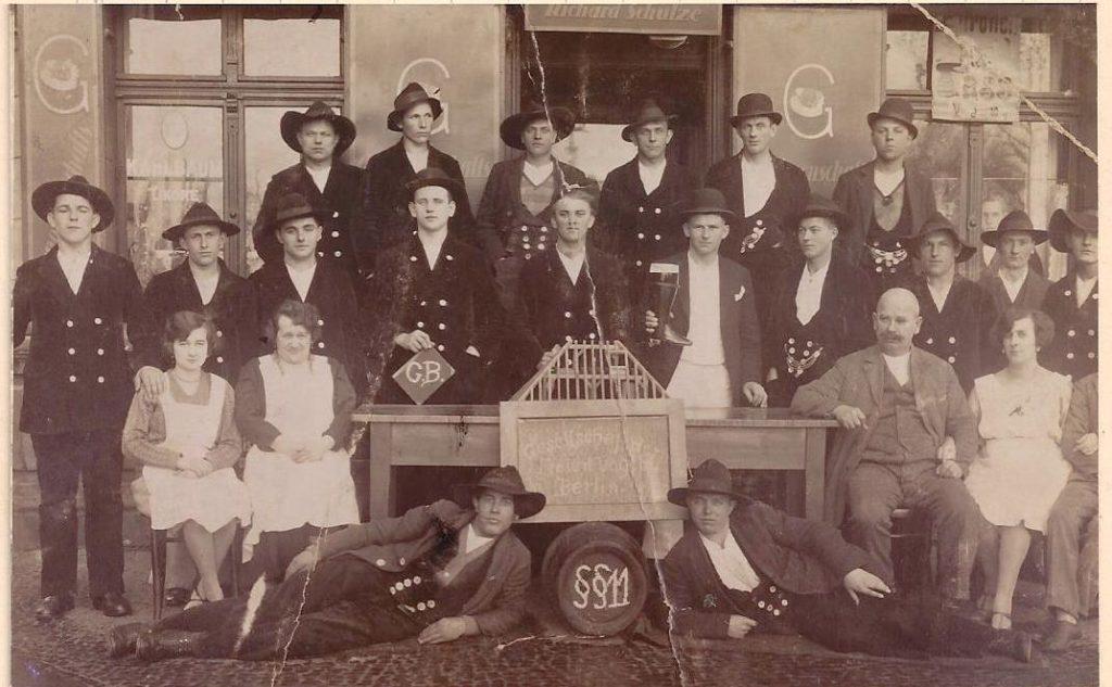 1922 – Berlin Gesellschaft Freier Vogtländern