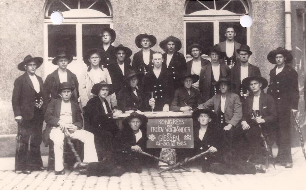 1925 – Kongress Nr.1 Giessen