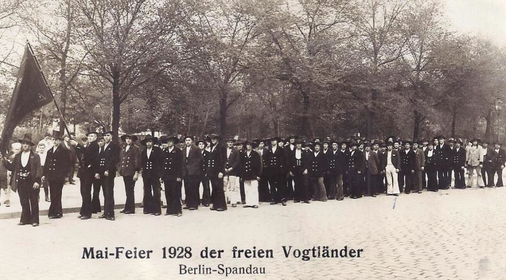 1928 – Fahnenweihe Berlin-Spandau