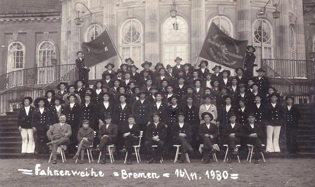 1930 – Fahnenweihe Bremen