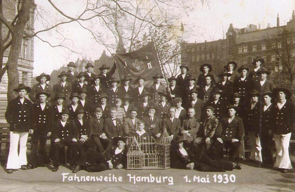 1930 – Fahnenweihe Hamburg