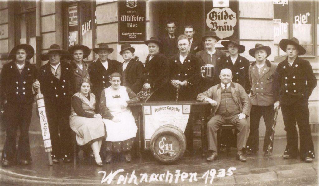 1935 – Weihnachten in Hannover