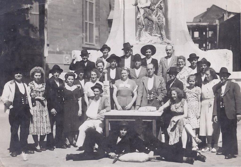 1950 – Erstes Gesellentreffen nach dem Krieg Frankfurt