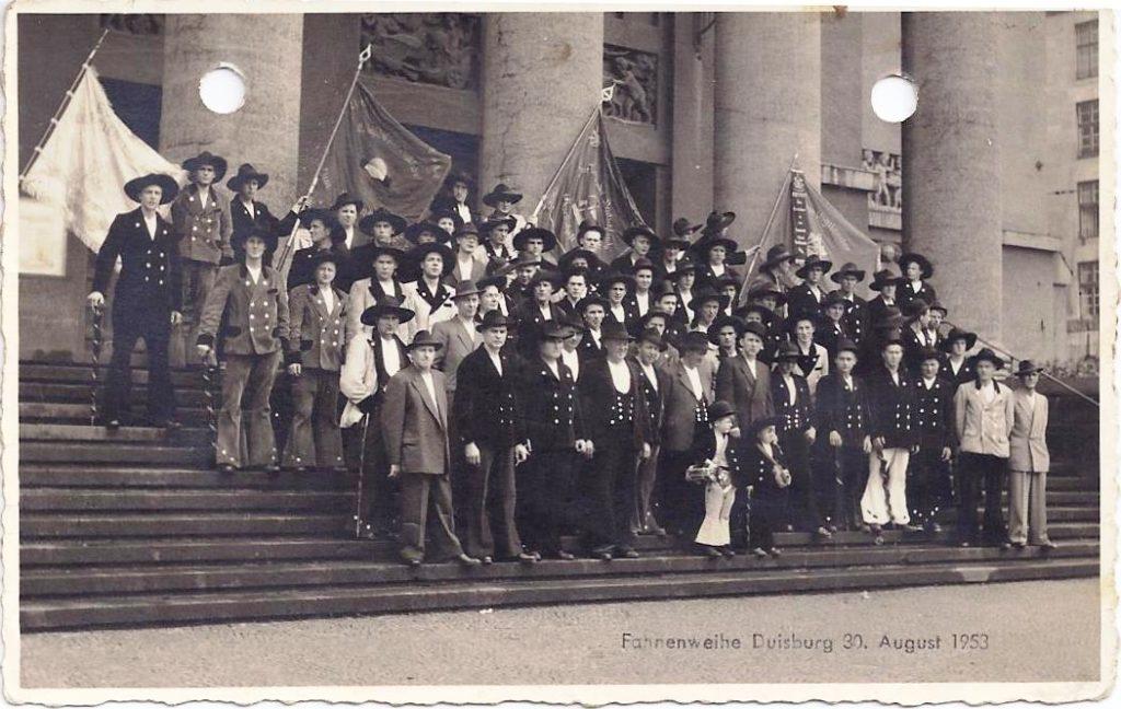 1952 – Fahnenweihe Duisburg