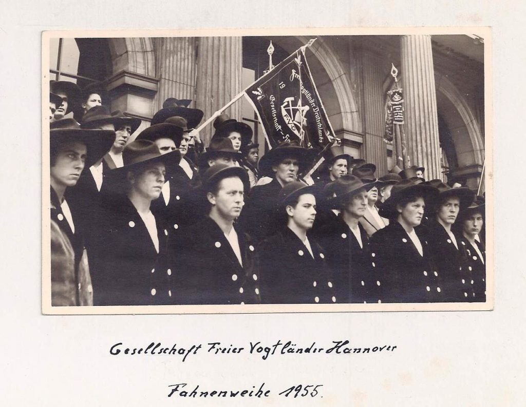 1955 – Fahnenweihe Hannover