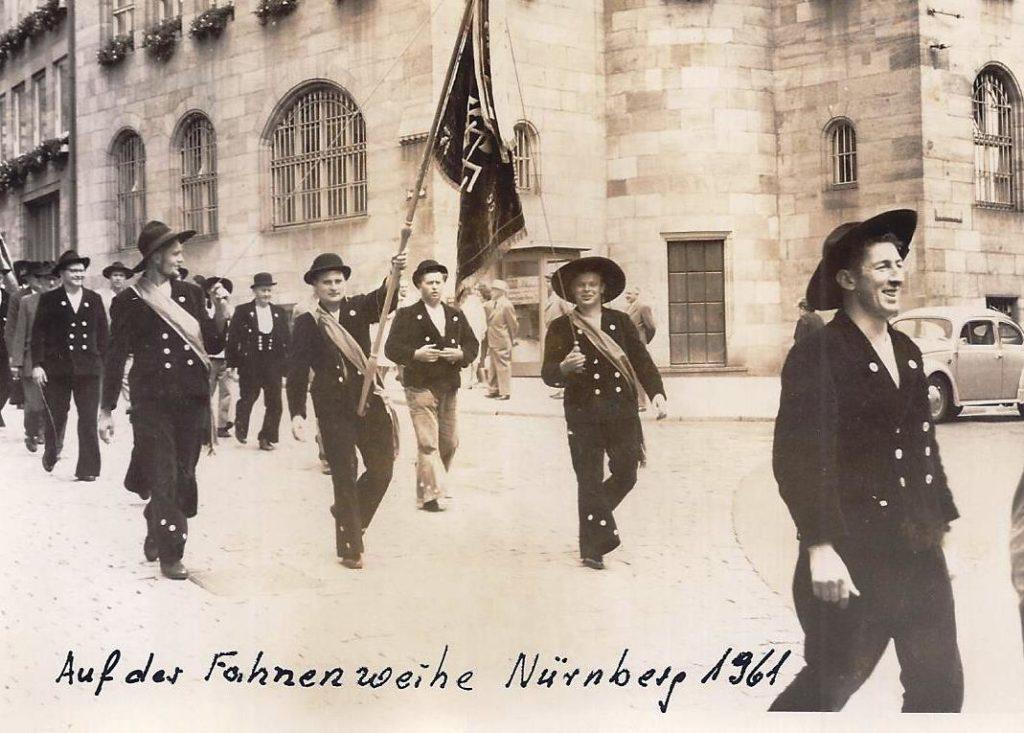 1961 – Fahnenweihe Nürnberg