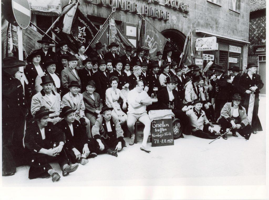1971 – Gesellentreffen Fürth