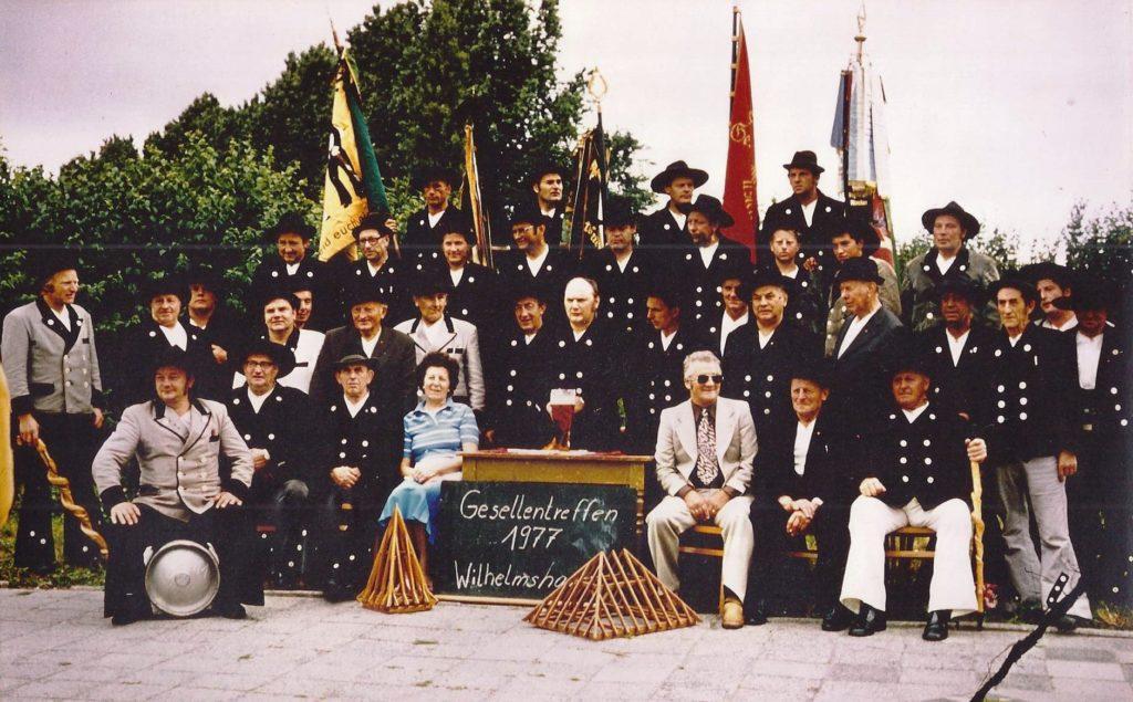 1977 – Gesellentreffen in Wilhelmshafen