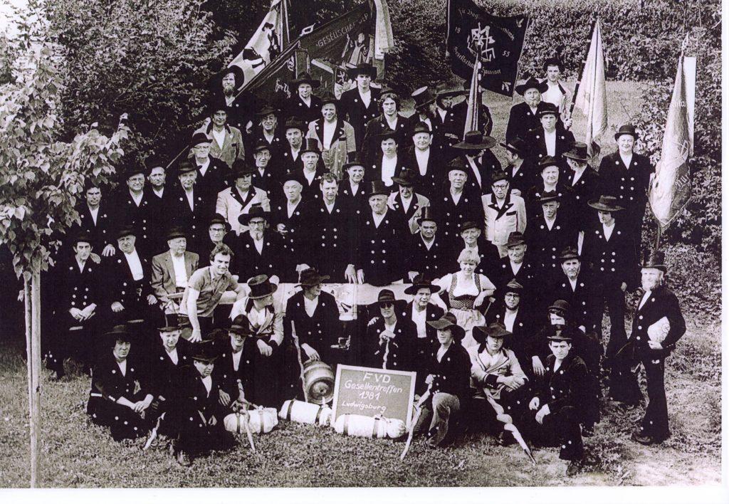 1981 – Gesellentreffen Ludwigsburg