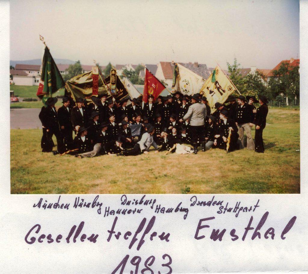 1983 – Gesellentreffen Emsthal