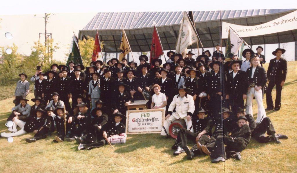 1985 – Gesellentreffen Fürth