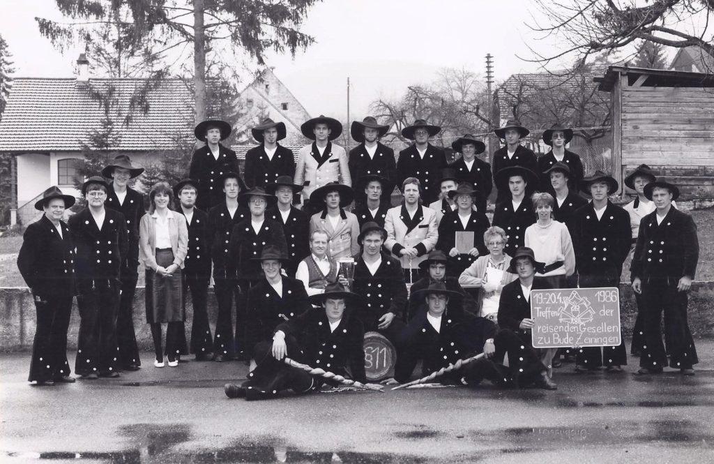 1986 – reis. Gesellentreffen in Zeiningen