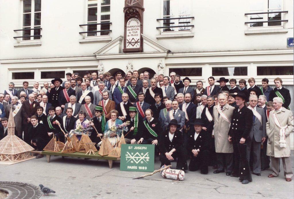 1989 – CCEG Treffen in Paris u.St.Josefsfeier