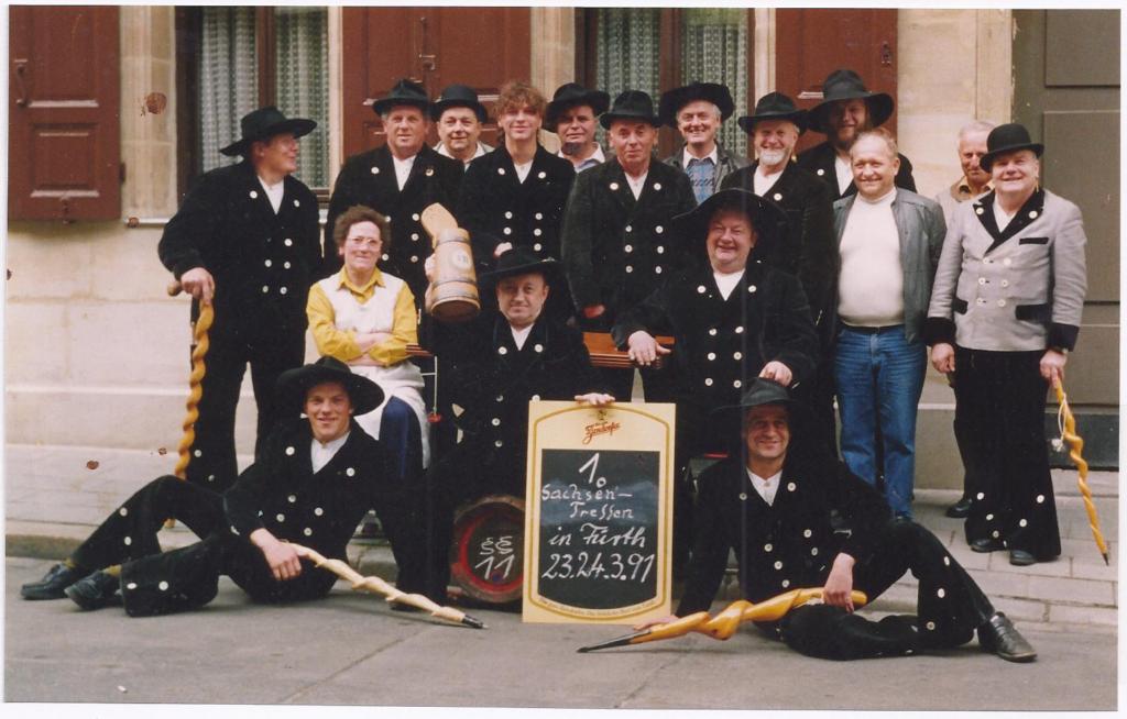 1991 – 1. Sachsentreffen in Fürth