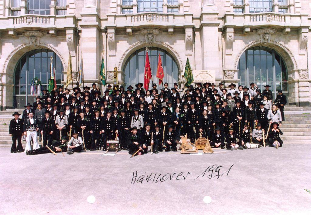 1991 – Gesellentreffen in Hannover