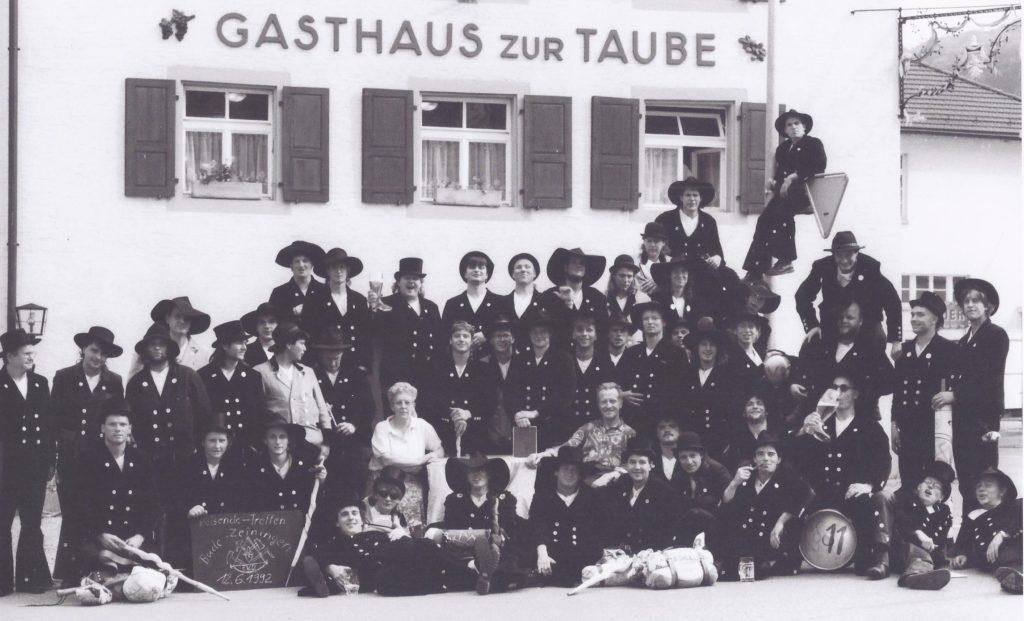 1992 – reisende Treffen in CH-Zeiningen