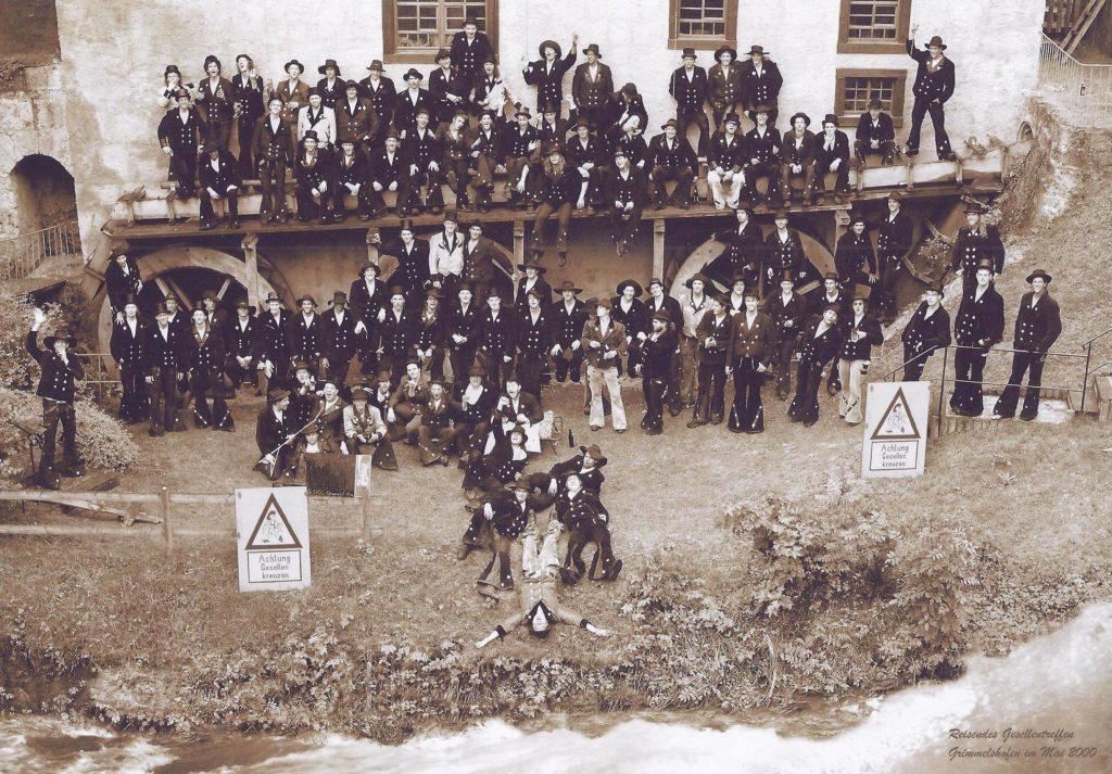 2000 – reis. Gesellentreffen in Grimmelshofen