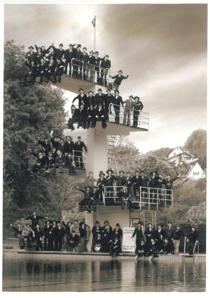 2003 – reis. Gesellentreffen in Hüngersdorf