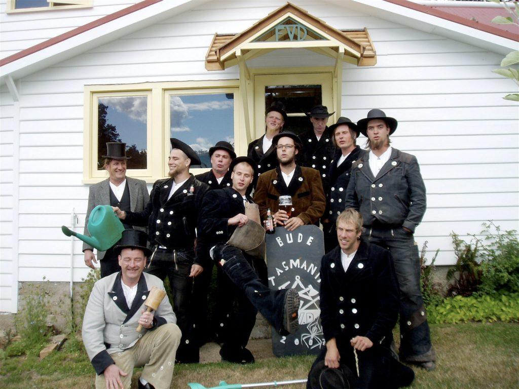 2007 – Gesellentreffen in Tasmanien