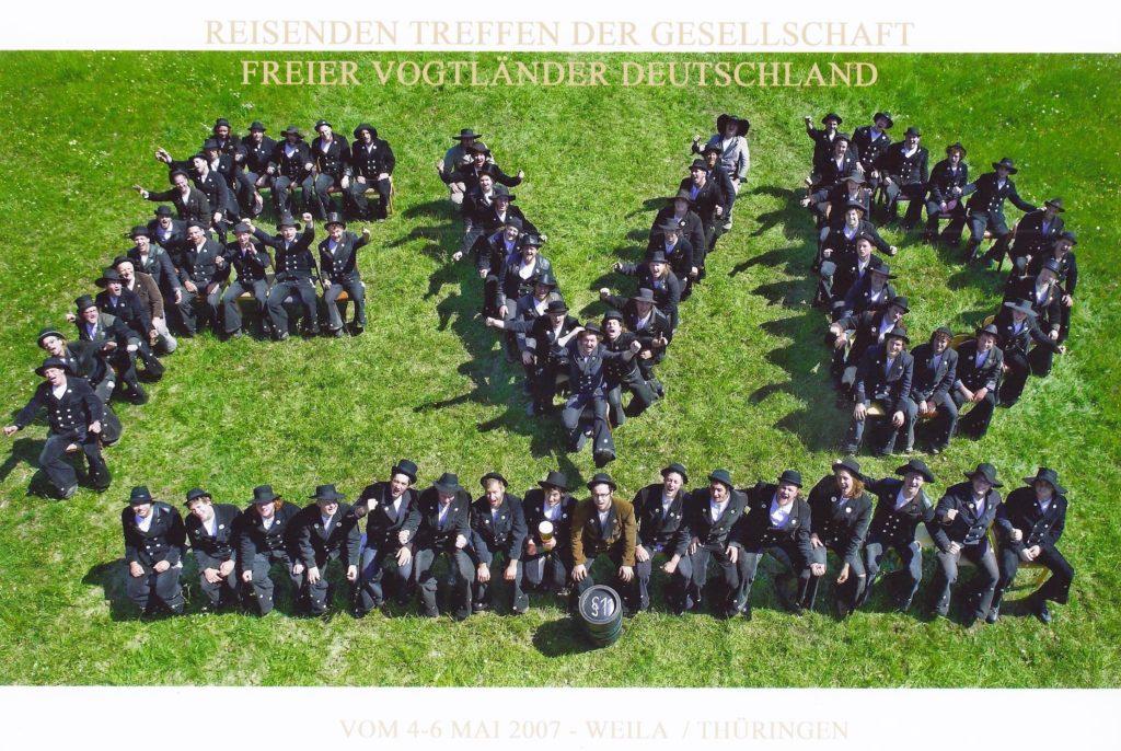2007 – reis. Gesellentreffen in Weila-Thüringen
