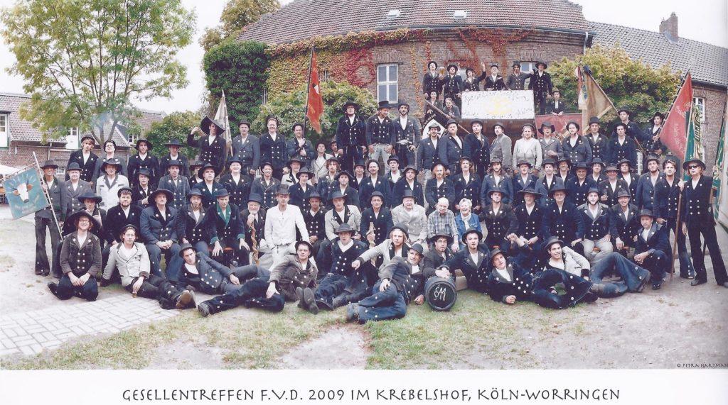 2009 – Gesellentreffen im Krebelshof, Köln-Worringen