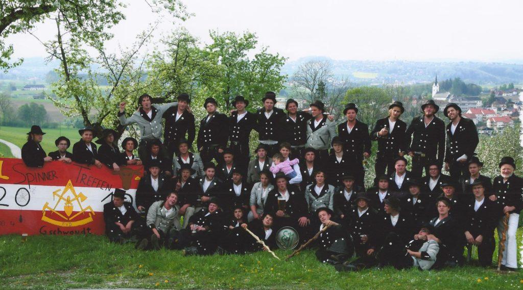 2010 – reis. Gesellentreffen in Gschwandt