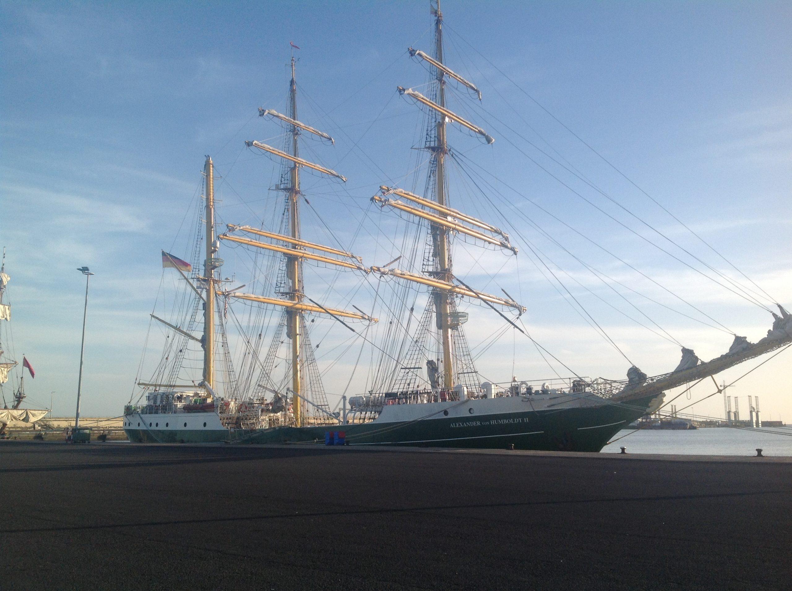 """Die """"Alex"""" im Hafen von Santa Cruz de Teneriffe"""