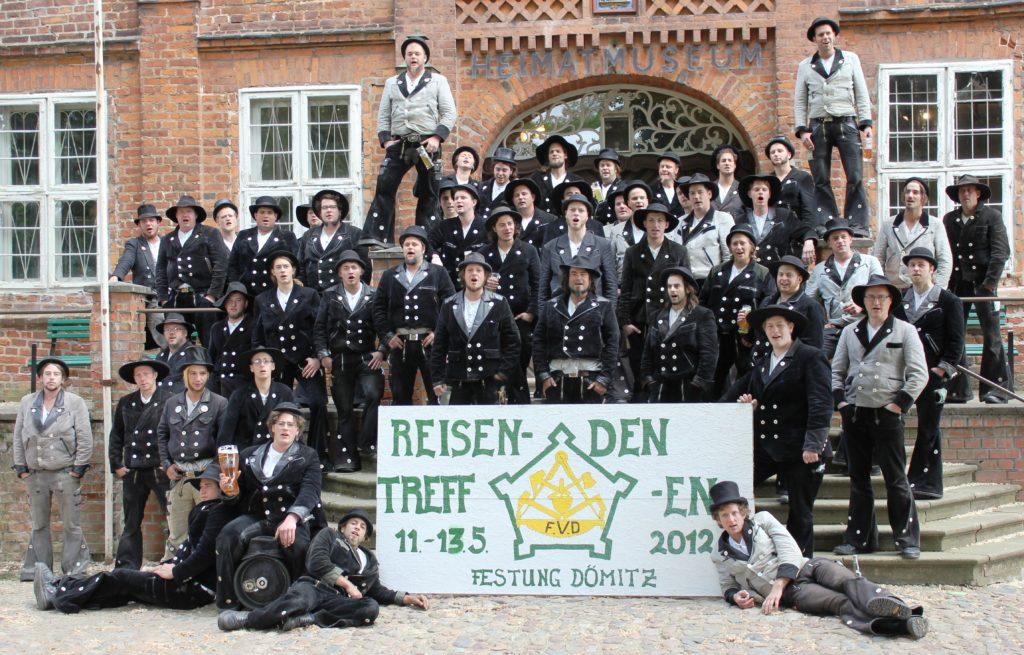 2012 – reis. Gesellentreffen in Dömitz